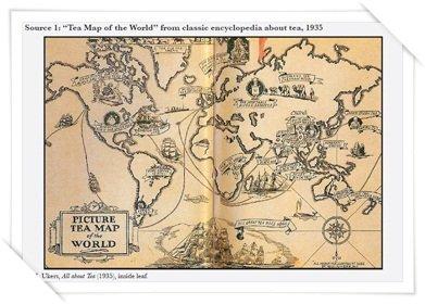 Tour The World With Vs Teas Viannes Teas - Map of teas