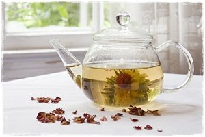 Blossom Tea at Viannes