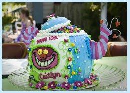 Mad HatterTeapot Cake